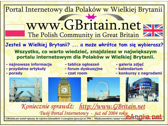 Portal dla Polaków w Wilekij Brytanii  - www.GBritain.net